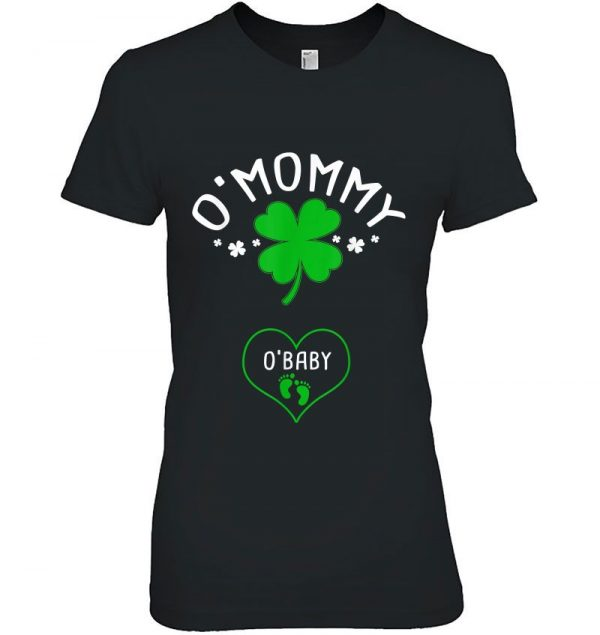 Omommy Obaby Four Leaf Clover Version Tshirts - 2